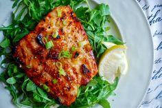 Orange Ginger Glazed Salmon
