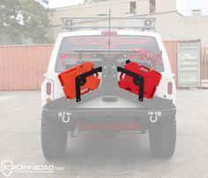 XJ Tire Carrier RotoPax Mounts Adventure 84-01 Powder Coat JCR Offroad