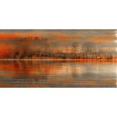 Parvez Taj Serenity Painting Print on Wrapped Canvas