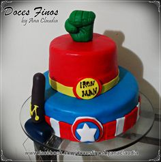 Bolo dos Vingadores, Cake The Avengers