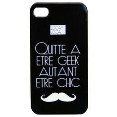 Coque iPhone 5/5S GEEK CHIC