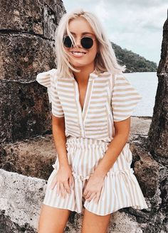 Affordable And Cheap Summer Outfits Ideas - Diy Outfits, Cute Outfits, Fashion Outfits, Fashion Trends, Ladies Fashion, Womens Fashion, Fashion Ideas, Fresh Outfits, Fashion Skirts