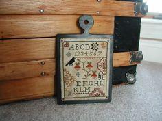 Hornbook Sampler - Quaker Blackbird a Little by Little Design