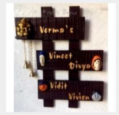 1000 ideas about name plates on pinterest desk name for Nameplate for home main door