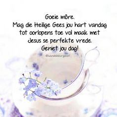 Good Morning Wishes, Morning Messages, Morning Quotes, Evening Greetings, Goeie Nag, Goeie More, Afrikaans, Night, Words