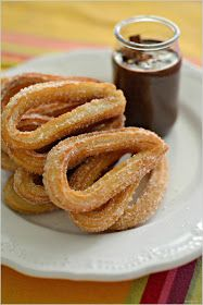 Sweet my Kitchen: Churros com molho de chocolate
