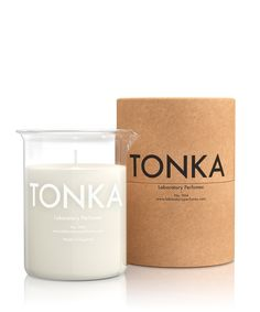 Laboratory Perfumes Soy Wax 004 Sweet Spiced Tonka Scented Room Candle - Trouva