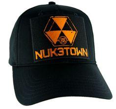 Nuk3town Call of Duty Hat Baseball Cap Alternative Clothing Black Ops  Nuketown Elder Scrolls Online 31cc4a987d97