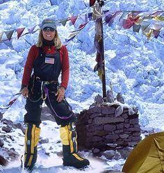 Susan Ershler in Everest base camp. http://susanershler.com/blog/2012/05/summit/