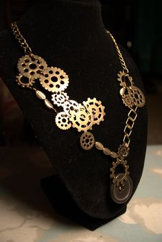 My latest creation. Apparently I make steam punk jewelry now. :)    More at my shop:  http://www.etsy.com/shop/twinklesandwinkles