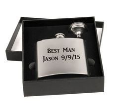Custom Personalized Engraved Flask Gift Set with by ULEKstore $12.95 with FREE ENGRAVING