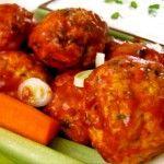 Clean: Spicy Buffalo Chicken Meatballs