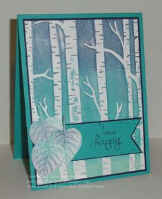 Blue, Blue and more Blue...Card 2 by shoogendoorn - Cards and Paper Crafts at Splitcoaststampers