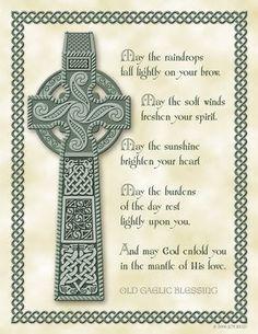 Scottish Blessings | celtic birthday blessings