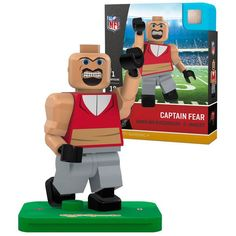 Captain Fear Tampa Bay Buccaneers OYO Sports Generation 5 Mascot Minifigure - $12.99