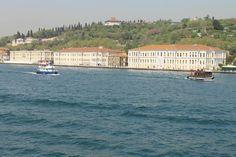 Mansions on the Bosporus at Istanbul, Turkey