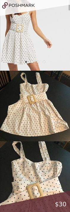 ASOS mini skater dress in polka dot size 6 Never worn. Size 6 Perfect condition ASOS Dresses Mini