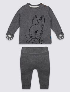 2e8c8bfa7 Peter Rabbit Bodysuit and Knitted Dungarees - Mothercare 16£