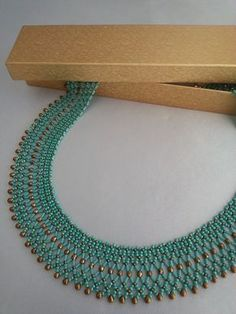 Image gallery – Page 130463720440859816 – Artofit Beaded Necklace Patterns, Lace Necklace, Seed Bead Necklace, Necklace Designs, Bead Jewellery, Seed Bead Jewelry, Jewelery, Handmade Beads, Handmade Jewelry