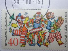 Karneval in Köln auf einer Briefmarke :-)