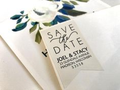 Personalizing your Save the Dates can be a daunting task but with these wedding address return labels you'll have the job done in no time. Custom Tags, Custom Labels, Wedding Tags, Wedding Favors, Key Bottle Opener, Return Labels, Mailing Labels, Label Paper, Wedding Stickers