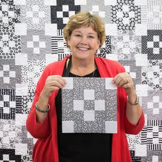 Bordered Nine-Patch Quilt Tutorial with Jenny Doan