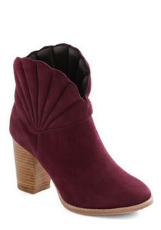 Glam Shell Bootie, #ModCloth