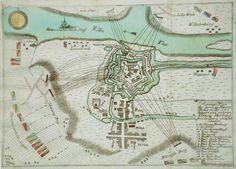 Harburg-Stich von 1757 Belagerung von Harburg, 28. November bis 27. Dezember 1757