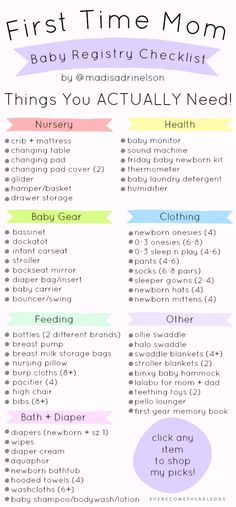 First time moms 478155685441847941 - First Time Mom: Baby Registry Checklist — Hey Madi Nelson Source by Mama Baby, Mom And Baby, Baby Girls, Baby Showers Juegos, Baby Registry Checklist, Baby Registry Essentials, Baby Checklist Newborn, New Baby Checklist, Baby Shower Checklist