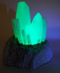Crystal Led Light Crystal Night Light by RCubedCreations on Etsy