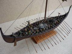 "EMHAR ""Gokstad"" 9th Century Ship 1:72"