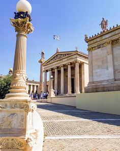 Ancient Greek Architecture Illustration Great Buildings And Structures Ancient Egypt Architecture, Greece Architecture, Indian Architecture, Architecture Sketches, Architecture Design, Rome Buildings, Great Buildings And Structures, Athens Hotel, Athens Greece