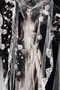 "pivoslyakova: "" Greta Varlese by Jeff Bark for Flair #20 December 2015 """