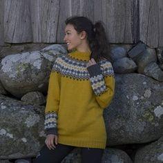 Katalog Nr 1708 - Viking of Norway Vikings, Crochet Necklace, Beaded Necklace, Alpacas, Bunt, Norway, Maya, Romper, Yellow