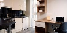 Related image Ruston Way, Studio Room, Kitchen Cabinets, House, Image, Home Decor, Kitchenette, Den Room, Decoration Home
