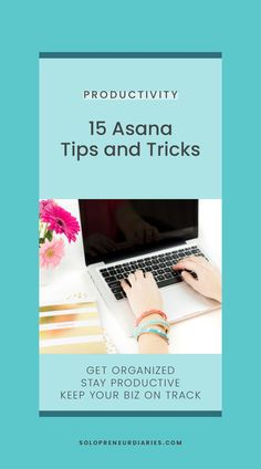 Do you use (or want to use) Asana for your project and task management? Asana is a powerful organization tool for your online business. These tips and ideas will help you get the most out of Asana. | Productivity