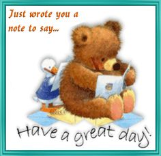 Wish your loved ones a great day ahead with this #cute #GoodMorning #Ecard