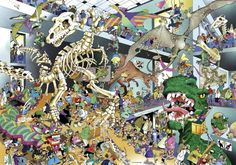 DINOS No. of pieces: 1000 Size: 70 x 50 cm Artist: Giuseppe Calligaro