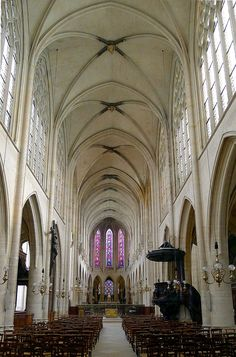 Eglise Saint-Germain-l-Auxerrois interior, Paris 1e