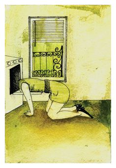 Sylvia Plath  Watercolor Print by daniellelaurenti on Etsy, well that just says it all!!!!