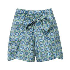 Short comfort pareo Corporeum - azul na Look Con Short, Summer Outfits, Cute Outfits, Crochet Shorts, Cute Shorts, Fashion Outfits, Womens Fashion, Short Skirts, Fitness Fashion