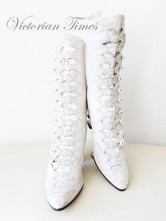 Victorian Times: Beatifull Wedding Boots