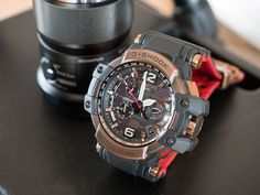 Hands-On: The Casio G-Shock Master Of G Gravitymaster GPW1000RG-1A G Shock Watches Mens, Best Watches For Men, Luxury Watches For Men, Cool Watches, Men's Watches, Burberry Men, Gucci Men, F 16 Falcon, Kanye West And Kim