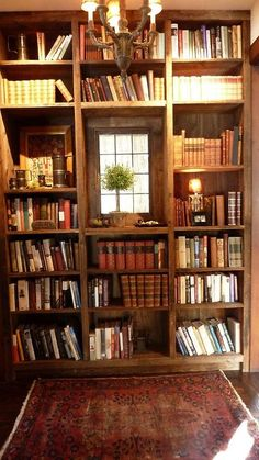 Small library new library bookshelves, home libraries и livi Rustic Bookcase, Built In Bookcase, Bookcases, Rustic Shelves, Library Bookshelves, Interior Exterior, Interior Design, Interior Architecture, Deco Cool