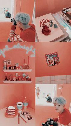 Min Yoongi Bts, Min Suga, Pastel Wallpaper, Bts Wallpaper, Aesthetic Iphone Wallpaper, Aesthetic Wallpapers, K Pop, Kpop Backgrounds, Bts Lockscreen