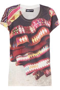 MARIO TESTINO FOR MATE|Quispi cotton-blend jersey T-shirt|NET-A-PORTER.COM