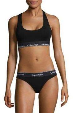 Calvin Klein Underwear Modern Cotton Bralette  fashioninspiration   fashionblogger  fashionista  clothing  ad 34c38e06b26