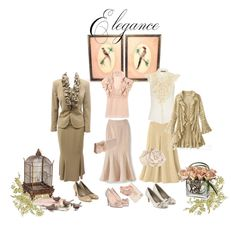 Soft Ruffled Elegance, created by mpsakatrixie on Polyvore