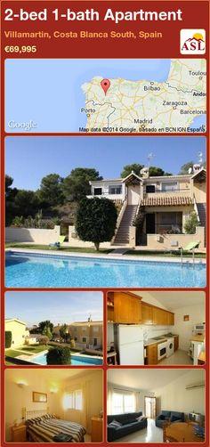 2-bed 1-bath Apartment in Villamartin, Costa Blanca South, Spain ►€69,995 #PropertyForSaleInSpain