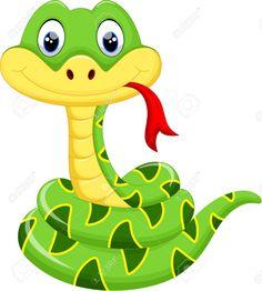 41721962-Cute-snake-cartoon-Stock-Vector.jpg 1,168×1,300 pixels